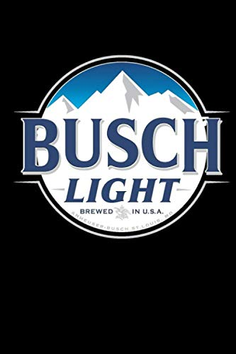 The Best Selling Of Busch Light Notebook: (110 Pages, Lined, 6 x 9)