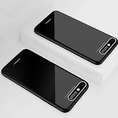 Moonbaby Funda de protección acrílica TPU Lycra Series Eye Protection for iPhone 6s Plus (Negro) Bueno (Color : Black)