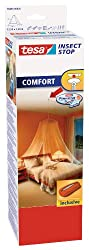 tesa Insect Stop COMFORT mosquito net / insect repellent for double beds / In practical bag ideal for traveling / 125 cm x 250 cm