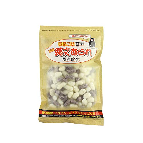 玄米あられ ミックス 50g×24 碧い海 熊本県南阿蘇産 黒玄米使用 肥料 農薬不使用 高熱焙煎加工