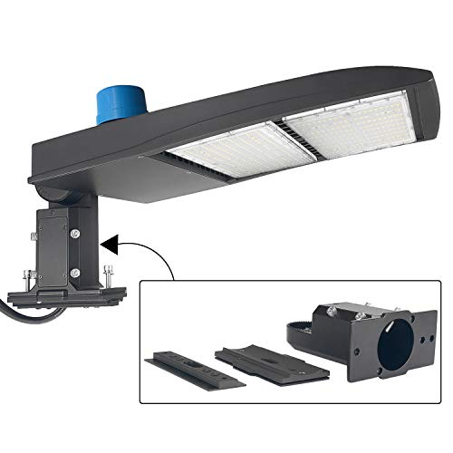 dephen 300W LED Parking Lot Light With Photocell...