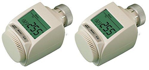 komforthaus MAX! Heizkörperthermostat plus, Pro Version mit stabiler Metallmutter, 2er Spar-Set
