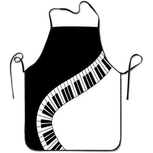 schorten schort voor mannen vrouwen, verstelbare koks keuken schort voor restaurant ambachtelijke tuin bbq-piano