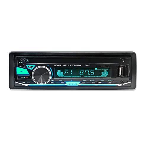 Boomboost 12 V 7003 Nouvelle Arrivée Bluetooth In-plat Voiture Automagnitol Radio Cassette Enregistreur One Din Stéréo Audio Lecteur