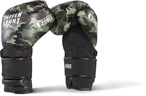 Paffen Sport C-Force Boxhandschuhe für das Training; Camouflage/schwarz; 10UZ