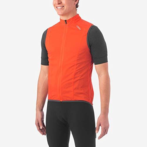 Giro Herren M Chrono Expert Wind Vest Fahrradbekleidung, Vermillion, XXL
