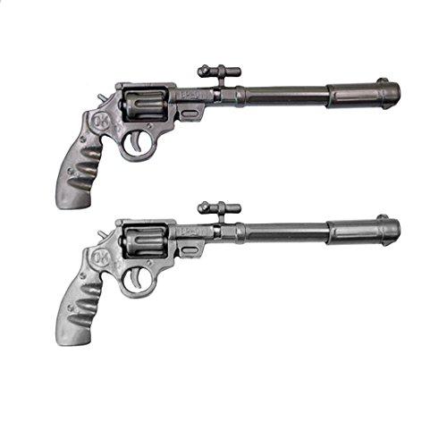 AiSi 2er Set Sparset Kreativer niedlicher Cartoon-kugelschreiber mit Pistole Design
