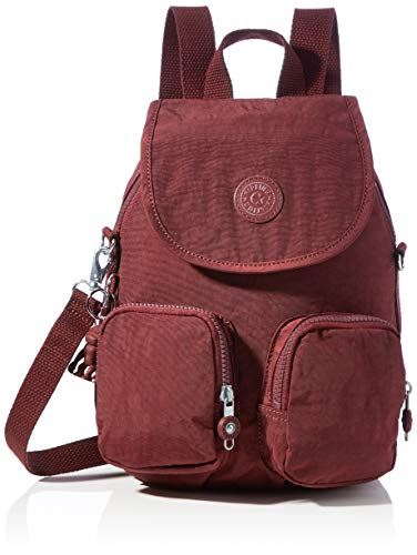 Kipling Firefly UP  BACKPACKS para Mujer  Intense Maroon  14x22x31 cm  LxWxH