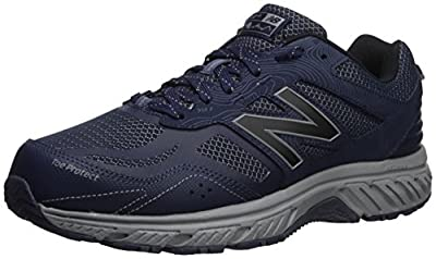 New Balance Men's 510 V4 Trail Running Shoe, Pigment/Steel, 10 M US