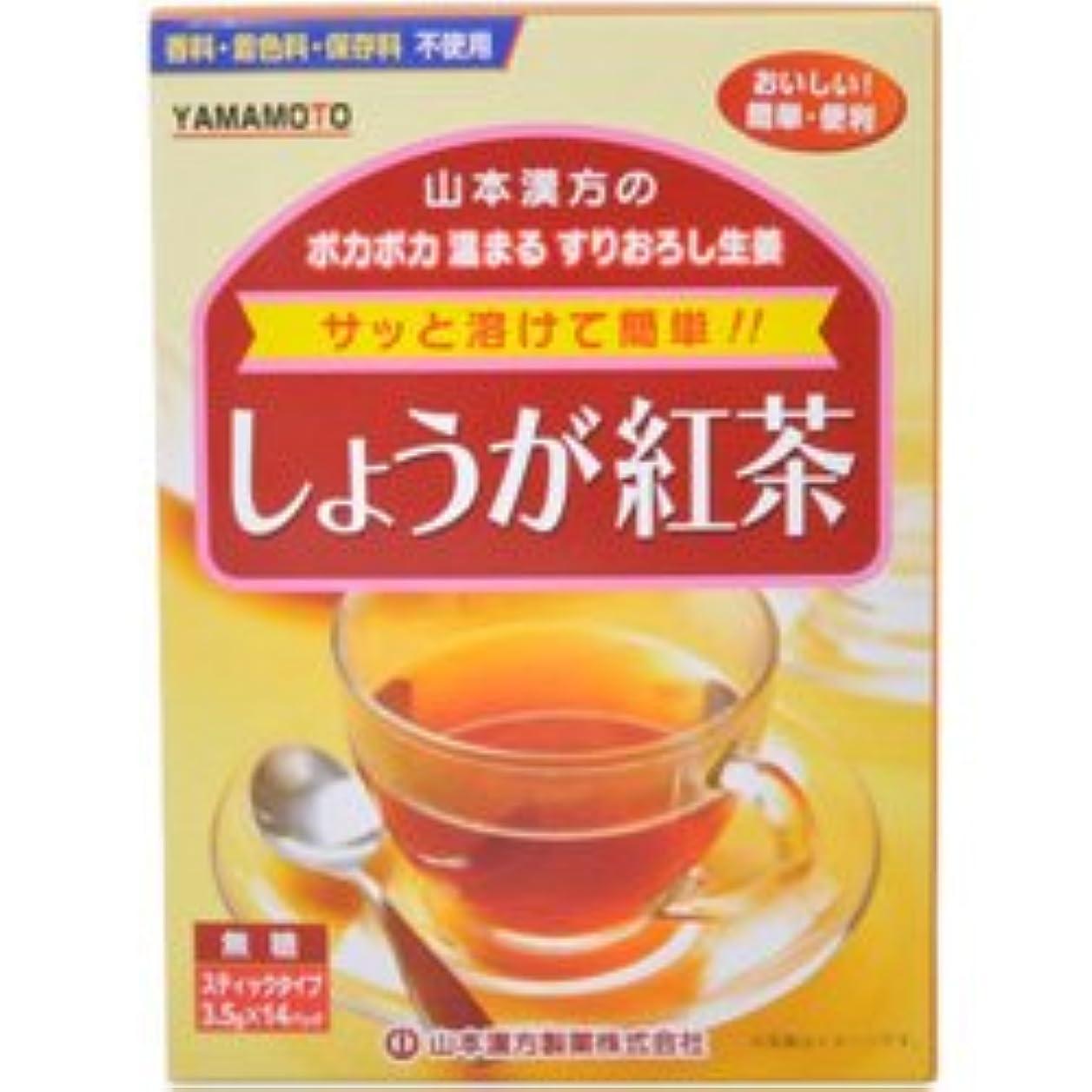 合法ポータブル下線【山本漢方製薬】しょうが紅茶 3.5×14包 ×5個セット