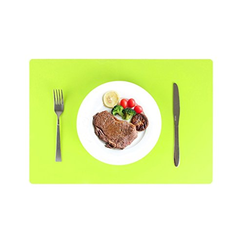 WADY 1 Stück Silikon Nonstick Backen, Pastry Mat, hitzebeständige Anti-Rutsch Tisch Matte,...