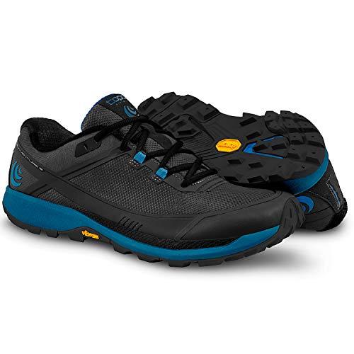 Topo Athletic Runventure 3 Chaussures de course légères pour homme, Homme, Runventure 3, noir/bleu, 8
