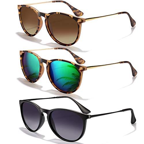 3 Pack of Sunglasses for Women or Men Polarized Now $9.89
