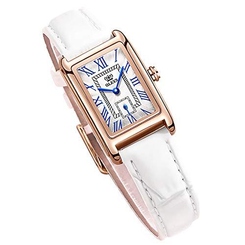 腕時計 レディース ブルー おしゃれ うで時計 時計 防水 超薄型 女性用 革ベル トブランド 革 アナログ 小さい シンプルな文字盤 が見やすい ファッション 薄い 薄型軽量 高校生 watch for women ladies