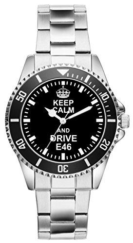 Geschenk für E46 BMW Fans Fahrer Kiesenberg Uhr 2267