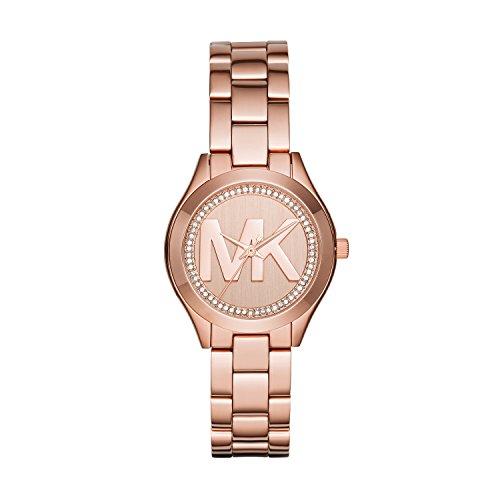 Michael Kors Reloj Analógico para Mujer de Cuarzo con Correa en Acero Inoxidable MK3549
