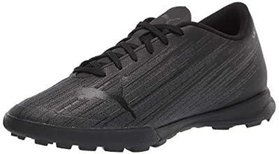 PUMA mens Ultra 4.1 Turf Trainer Soccer shoe, Puma Black-puma Black-puma Black, 10.5 US