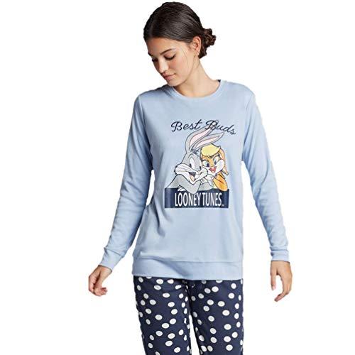 GISELA Pijama Largo Looney Tunes de...