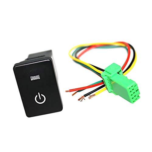 U/D Interruptor basculante Pulsador Luz Indicador Pr Sequoia (símbolo de potencia)