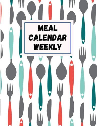 meal calendar weekly: meal organizer, 21 fix day, magnetic menu list, meal planner calendar, kitchen planner, weekly magnetic meal planner notepad, meal planner fridge magnet