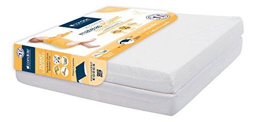 Candide 601110 - Colchón infantil plegable (2 partes, 60 x 120 cm, 7 cm de espesor)