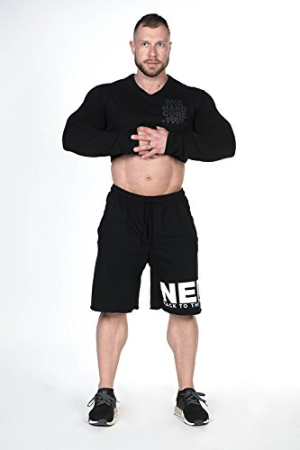 Nebbia, Men Shorts, Made from woll, Comfort in Every Physical Activity, Color Black, Size XL