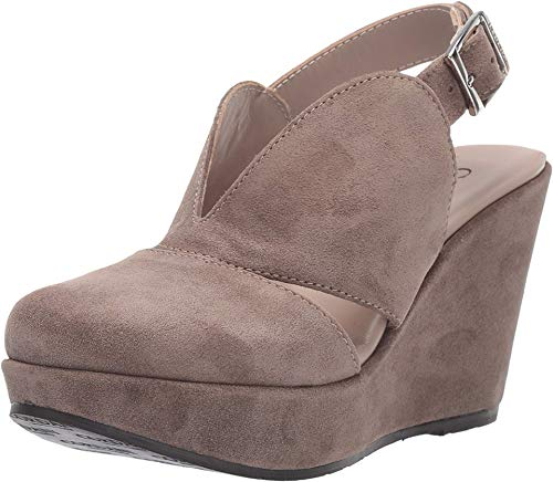 Cordani Ralphie Taupe Suede 38 (US Women's 7.5-8) M