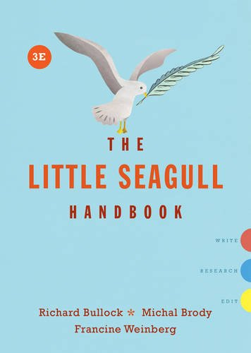 The Little Seagull Handbook (Third Edition)