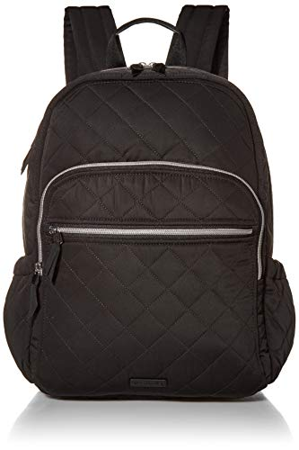 Vera Bradley Women's Performance Twill Campus Backpack, Black, One Size