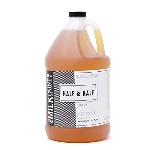 Half and Half Gallon (Pure Tung Oil and Citrus Solvent)