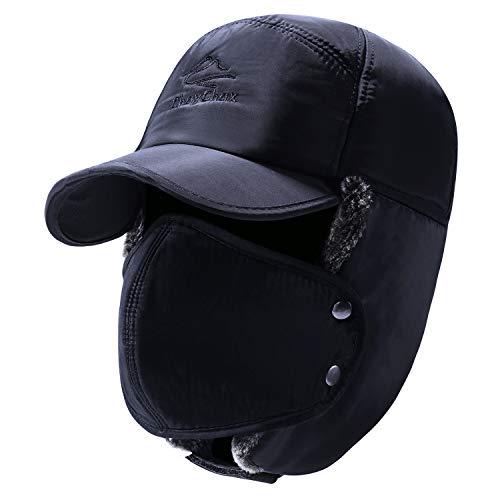 Yooeen Unisex Sombrero de Bombardero Trooper Trapper Sombrero de Esquí Con orejera...