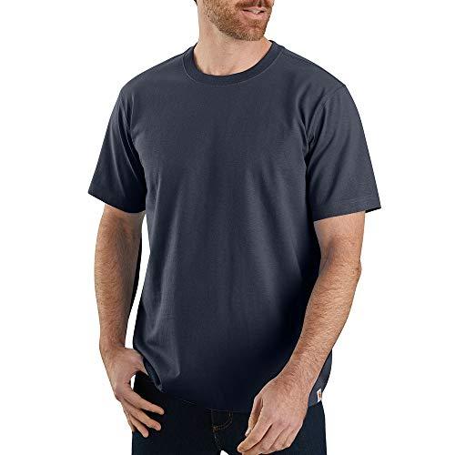Carhartt Men's 104264 Workwear Solid T-Shirt - Medium - Navy