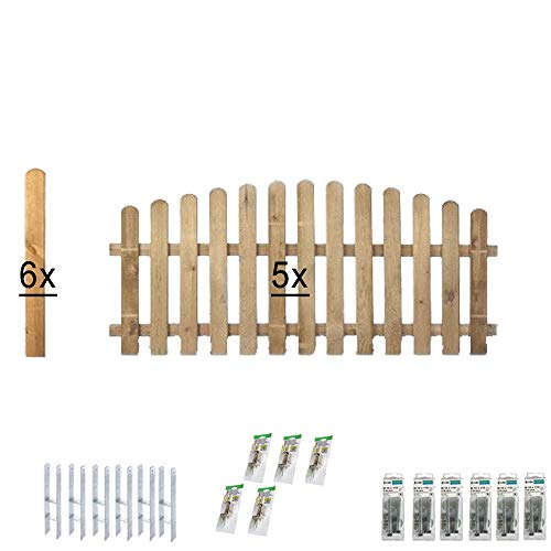 Komplett-Set Vorgarten-Zaun