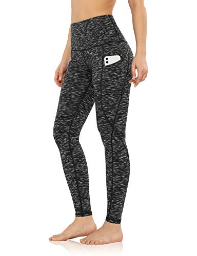 ODODOS Women's High Waisted Yoga Pants with Pockets,Tummy Control Non See...