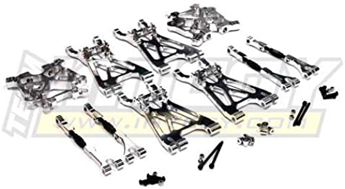 Integy RC Model Hop-ups T6926Silber Complete Suspension Kit for Savage XL & Flux