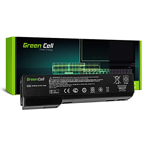 Green Cell® CC06 CC06XL CC09 Laptop Akku für HP EliteBook 8460p 8460w 8470p 8470w 8560p 8560w 8570p (6 Zellen 4400mAh 10.8V Schwarz)