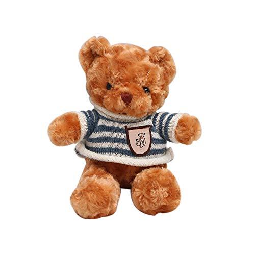 dagongji Soft Hugging Pillow, Cute Teddy Bear Stuffing Home Decoration Skin-friendly Plush Toys 32cm