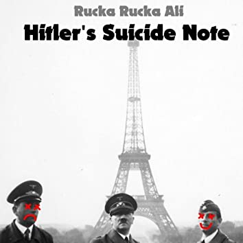 Hitler's Suicide Note