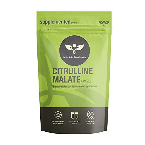 citrulline malate 750mg 180 capsules