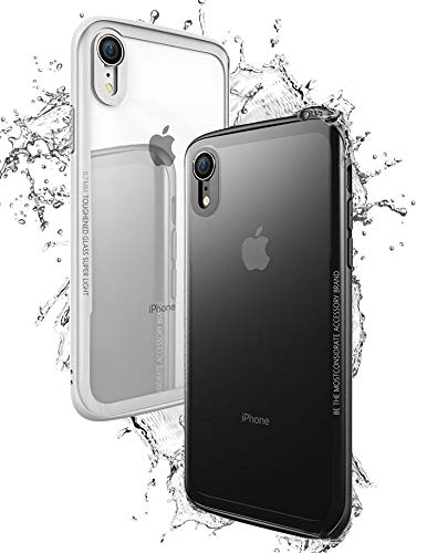 Capa case antishock Ultra Hybrid vidro para Iphone XR + pelicula vidro temperado 20d