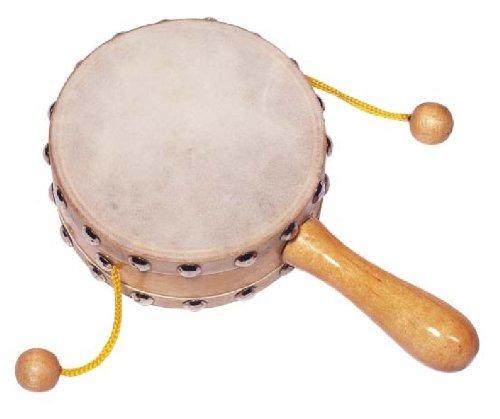 Goki 61999 - Musikinstrument - Bettlertrommel