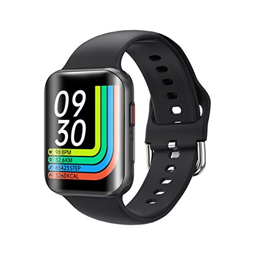 ZGLXZ Bluetooth Smart Watch Impermeable Heart Rate Monitor Fitness Tracker Deportes Smartwatch Vs P8 Smartwatch para Android iOS,A