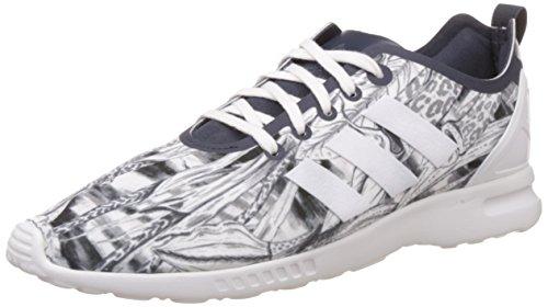 adidas ZX Flux ADV Smooth W, Stivaletti Donna, Grigio (Grey-Grau-Legend Ink/Legend Ink/Core White), 42 EU
