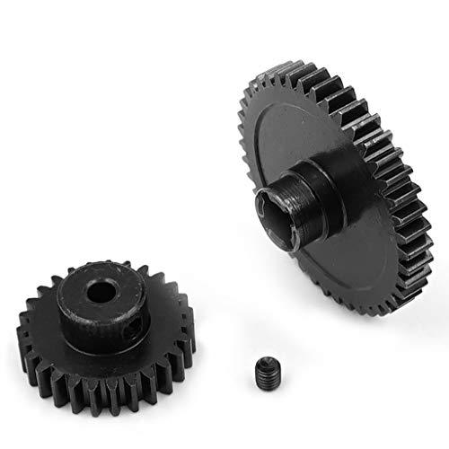 siwetg Metal Diff Main Gear 42T + Motor Gear 27T für 1/18 WLtoys A959-B A969-B A979-B K929-B RC Car Upgrade Parts