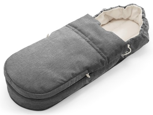 Stokke – Schlafsack Nest Scoot Softbag black melange