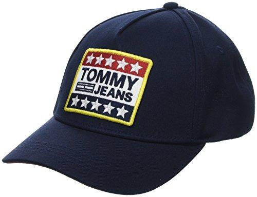Tommy Hilfiger Big Logo Patch Berretto da Baseball, Blu (Tommy Navy 413), Unica (Taglia Produttore: OS) Uomo