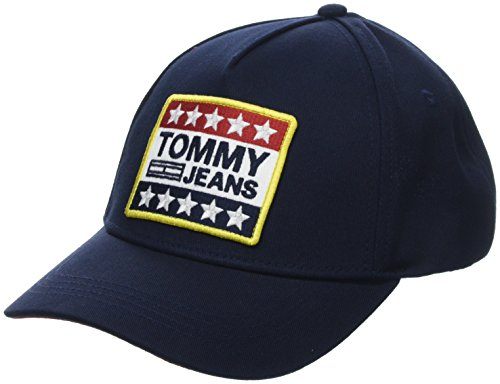 Tommy Hilfiger Big Logo Patch Gorra de béisbol, Azul (Tommy Navy 413),...