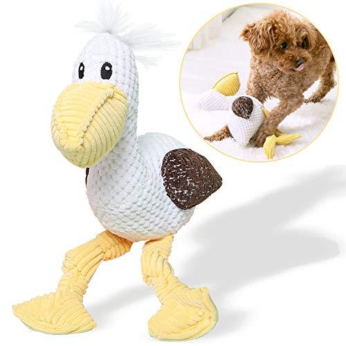 onebarleycorn – Quietschspielzeug für Hunde, Hund Quietschende Kauen Spielzeug Hund Spielzeug Plüsch Tier Kauspielzeug für kleine, mittelgroße und große Hunde