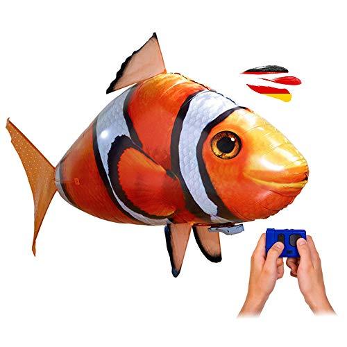 HSP Himoto RC Ferngesteuerter Fliegender Clown-Fisch - Ferngesteuerter Riesenfisch, mit Helium gefüllt schwebt er in der Luft