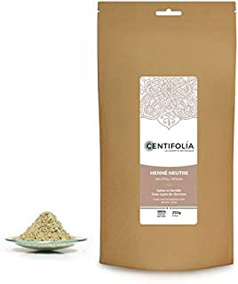 CENTIFOLIA - Neutral Henna - Cassia - Colorless - Makes hair stronger and lighter - More volume - Balancing action - 100% ...